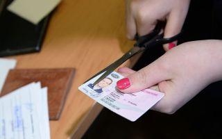 Сокращение срока лишения водительских прав