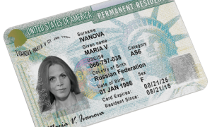 Подача документов на Green card USA DV-2021