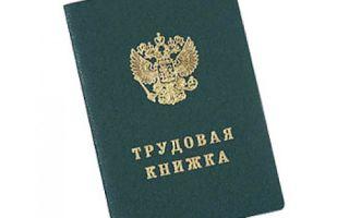 Трудовая книжка в консульство для Green Card