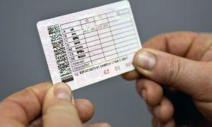 Заявление о потере водительского удостоверения при лишении