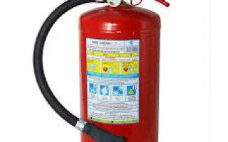 Требования к огнетушителю при техосмотре в 2020 году